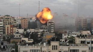 gaza bombardement israélien