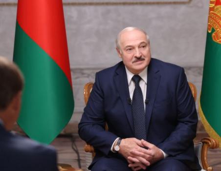 白俄罗斯领导人卢卡申科资料图片