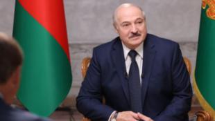 白俄羅斯領導人盧卡申科資料圖片