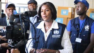 Charlotte Ndiaye, représentante de l'Organisation Mondiale de la Santé à Madagascar.