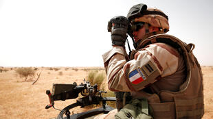 Французский военный в Мали, октябрь 2017 г.