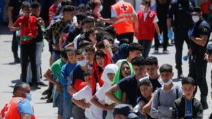 migrants mineurs ceuta