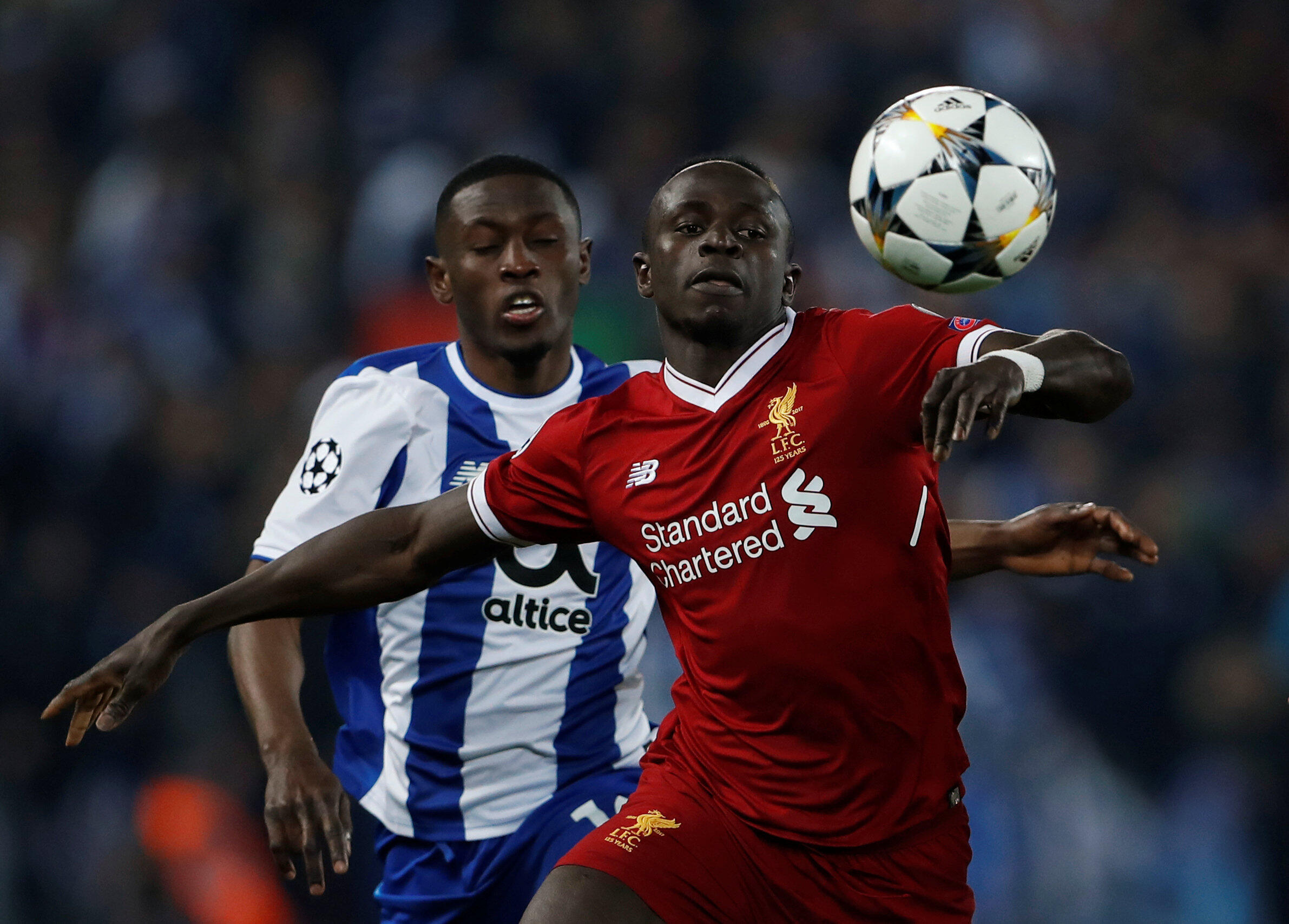 L'international sénégalais Sadio Mané s'est qualifié pour les quarts de finale de la Ligue des champions avec Liverpool.