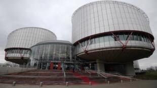 El edificio sede del Tribunal Europeo de Derechos Humanos (TEDH), en una imagen tomada el 7 de febrero de 2019 en Estrasbrugo, al este de Francia