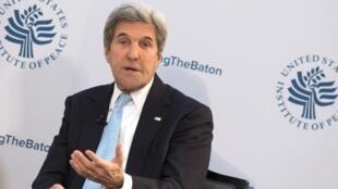 Aliyekuwa Waziri wa Mambo ya nje wa Marekani  John Kerry