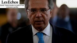 """Artigo do Les Echos analisa a política econômica do Brasil que """"está em busca do crescimento perdido""""."""