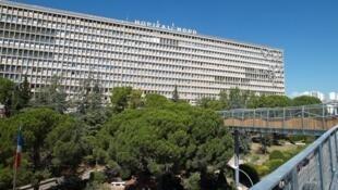 L'Hôpital Nord de Marseille.
