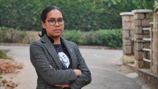 Ketakandriana Rafitoson, politologue et directrice exécutive de l'organisation de lutte contre la corruption Transparency International Intitiative Madagascar.