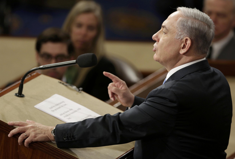 Биньямин Нетаньяху выступает перед Конгрессом США 03/03/2015