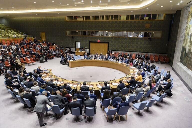 Le Conseil de sécurité de l'ONU (archive).