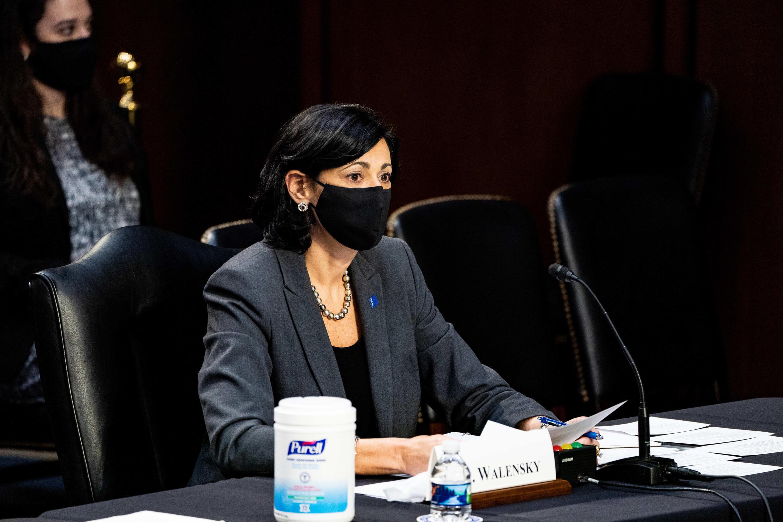 美国疾病控制预防中心主任瓦伦斯基 Rochelle Walensky,