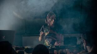 A DJ Juliana Lima.