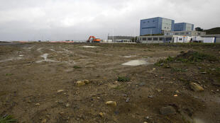 Photo de 2013 montrant la zone où devait être construit Hinkley Point..