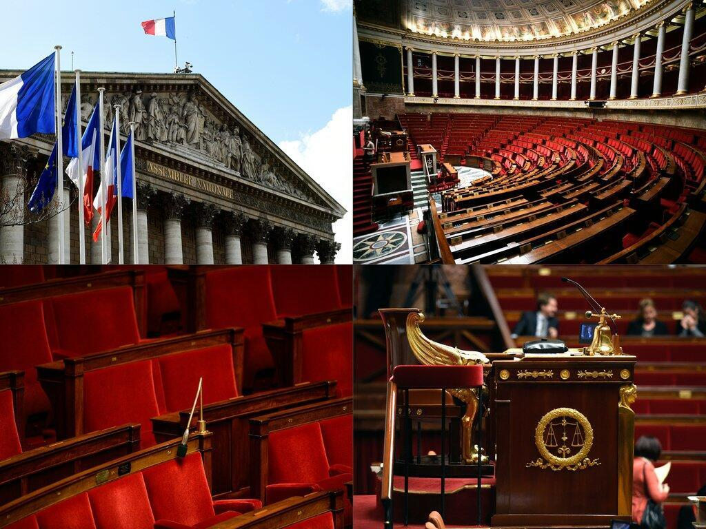 Депутаты партии Макрона и их союзники займут 350 мест в 577-местном Национальном собрании