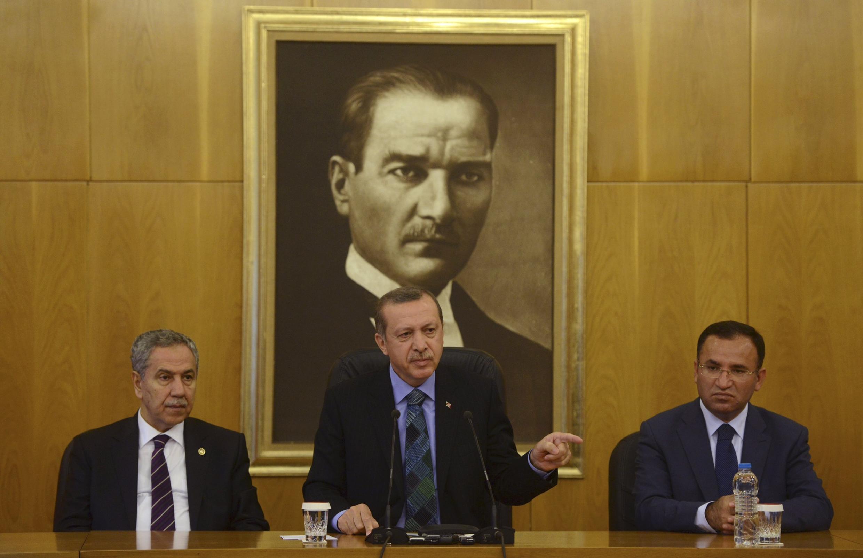 Recep Tayyip Erdogan, le 3 juin.