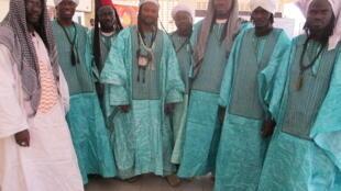 Les participants aux célébrations du Maouloud, à Bamako.