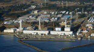 Vista aérea da usina nuclear da Tepco em Fukushima, em foto do dia 11 de março de 2013.