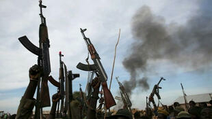 'yan bindiga a jihar Zamfara a arewacin Najeriya
