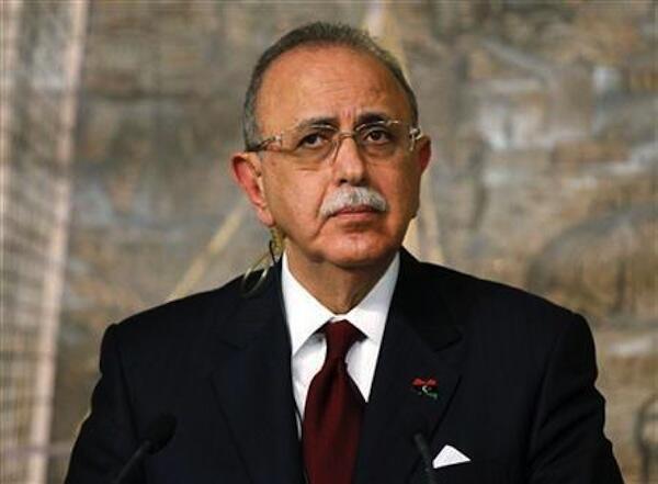 Waziri mkuu wa Libya Abdulrrahim al-Keib
