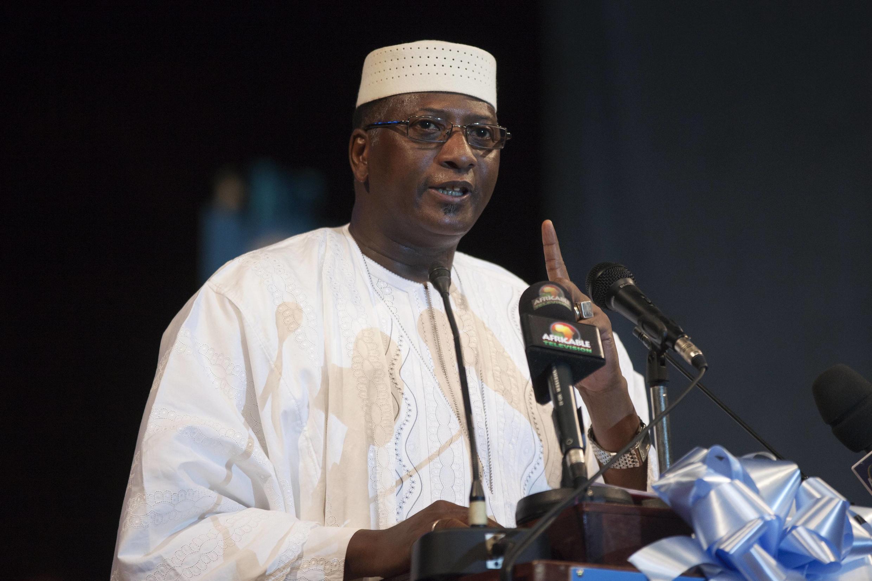 Modibo Sidibé, en campagne pour la présidentielle malienne, le 19 juillet 2013.