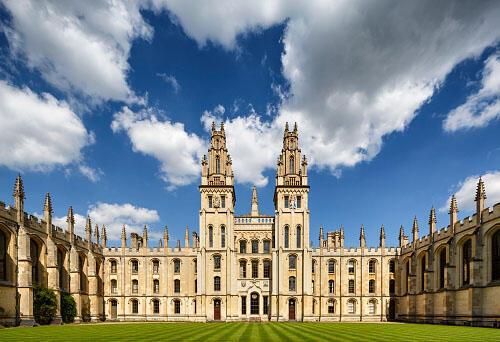 L'Université d'Oxford, au Royaume-Uni.