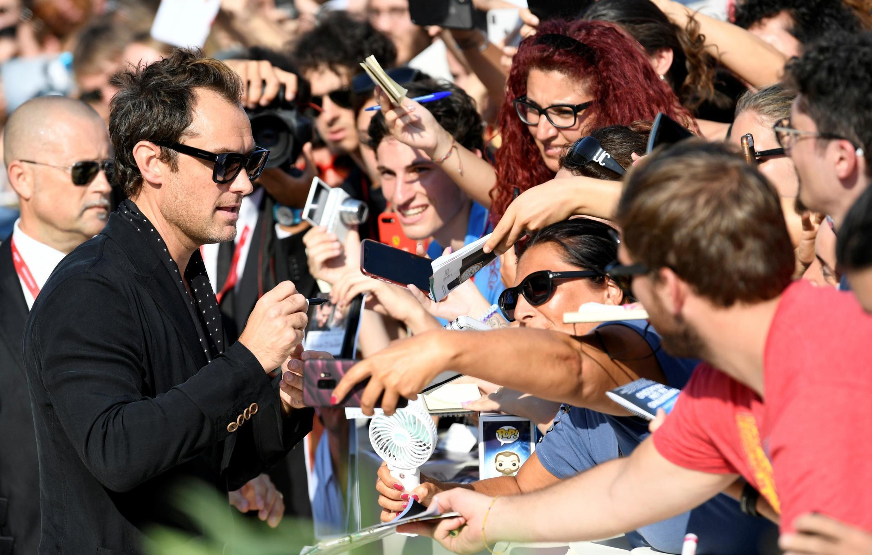 Джуд Лоу на Венецианском кинофестивале