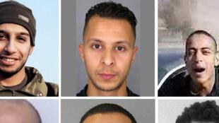 """製造巴黎恐襲案的""""伊斯蘭國""""組織分子"""