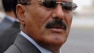 Rais wa Yemen Ali Abdallah Saleh kabla ya kujeruhiwa