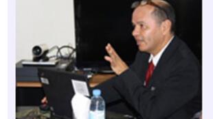 Oscar Melhado, représentant résident du fonds monétaire international à Kinshasa.