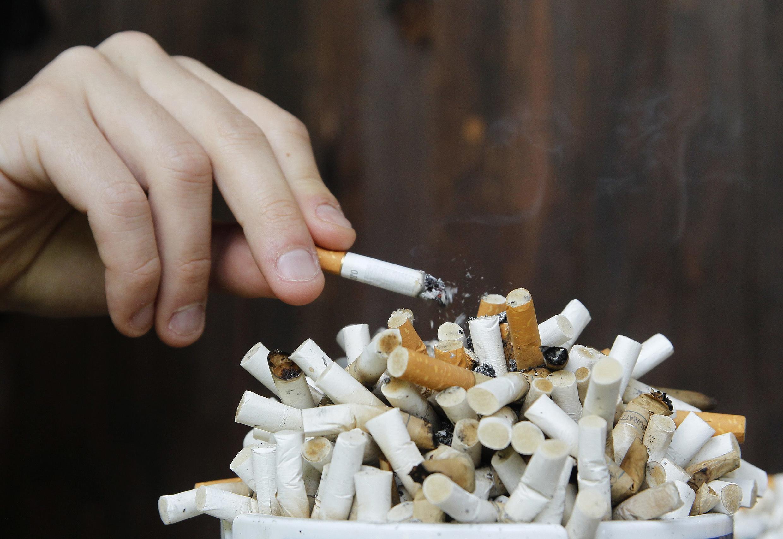 Alguns aplicativos permitem acumular pontos por cada pacote de cigarros comprado.