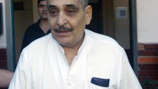 El médico Norberto Bianco, arrestado en 2008 en Asunción, Paraguay.