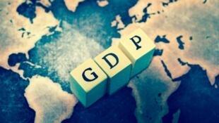 關於經濟增長GDP的報道圖片