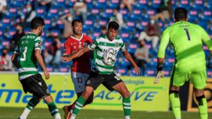 O Sporting CP lidera a Liga Portuguesa.