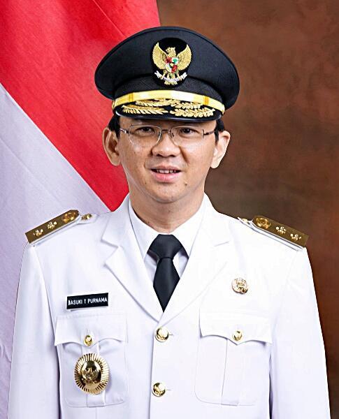 Ông Basuki Tjahaja Purnama - Trung Vạn Hiệp, sẽ trở thành Thống đốc Jakarta, Indonesia (wikipedia.org)