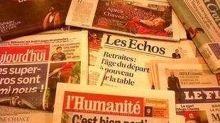 Capas dos diários franceses do dia 6 de Março de 2013