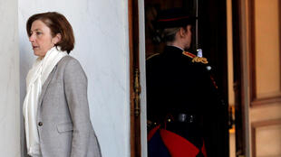 French Armed Forces Minister Florence Parly after the cabinet meeting