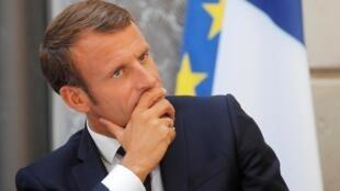 En Nueva York, Emmanuel Macron se pondrá una vez más 'su traje de diplomático en jefe' para aprovechar el impulso del G7 en Biarritz.