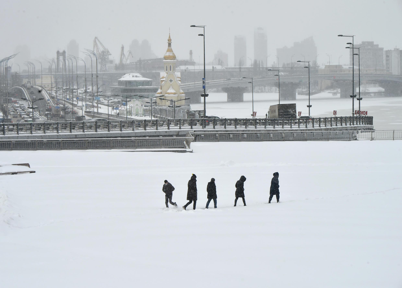 Ukraine has not experienced such heavy snowfall since February 2013