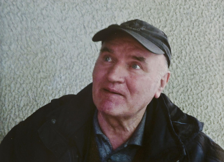 O ex-chefe militar Ratko Mladic, em Belgrado, acusado de comandar o massacre de Srebrenica.