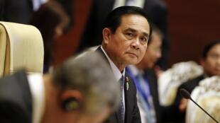 Le Premier ministre thailandais Prayuth Chan-ocha au 25ème sommet de l'Asean, le 12 novembre 2014 à Naypyidaw, capitale de la Birmanie.