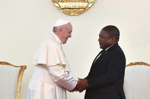 Papa Francisco doa 100 mil euros a vítimas de ataques terroristas no Cabo Delgado em Moçambique. Foto arquivo