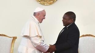 Papa Francisco doa 100 mil euros a vítimas de ataques terroristas no Cabo Delgado em Moçambique. Foto arquivo.
