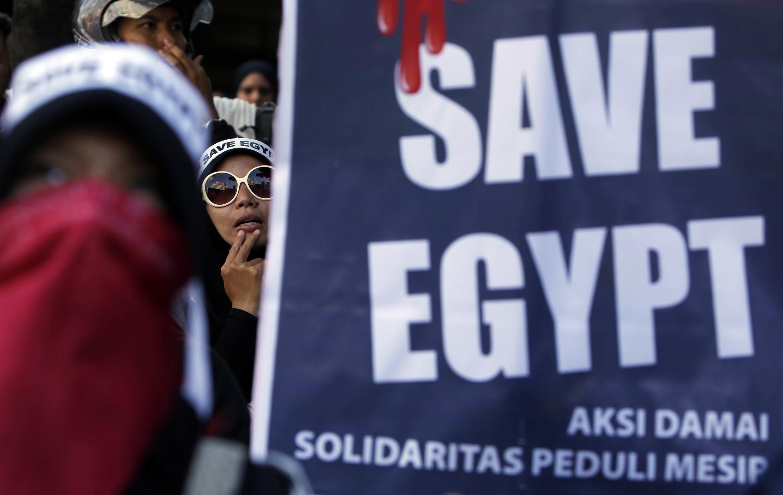 Cộng đồng Ai Cập hải ngoại tập hợp đòi Cairo chấm dứt bạo động - REUTERS