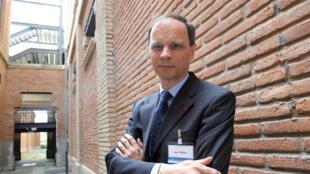 Jean Tirole, prix Nobel d'économie 2014, ici à Toulouse le 2 juin 2008.