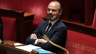 Le Premier ministre Édouard Philippe, le 28 avril 2020, à l'Assemblée nationale.