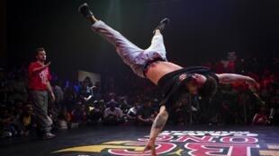 Breaking dance Mumbai Red Bull