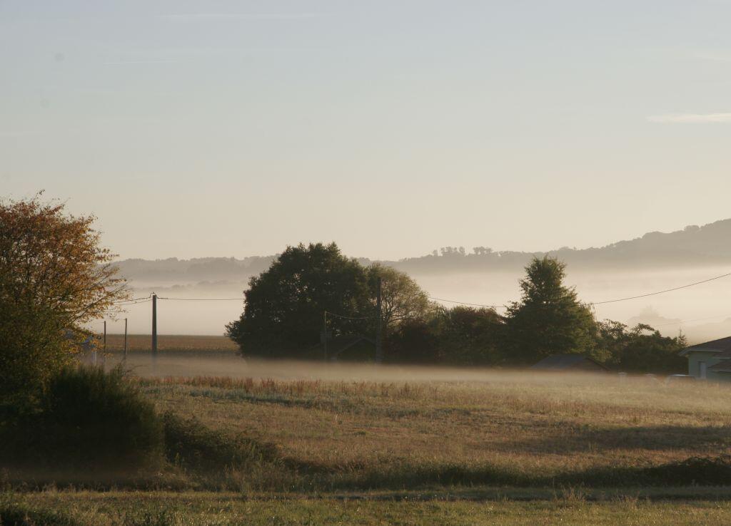 La levée du jour dans le Sud-Ouest de la France.