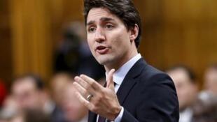 加拿大總理特魯多資料圖片