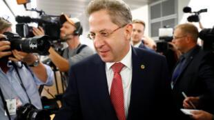 Hans-Georg Maassen, presidente de la Oficina Federal de Protección de la Constitución, los servicios de inteligencia alemanes.
