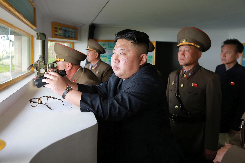 O líder norte-coreano Kim Jong Un pode estar por trás do ciberataque global